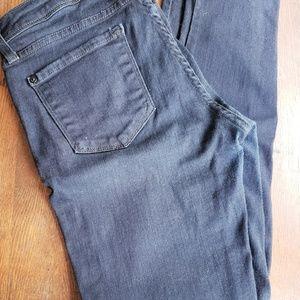 NWOT JustBlack size 28 dark blue denim jeans